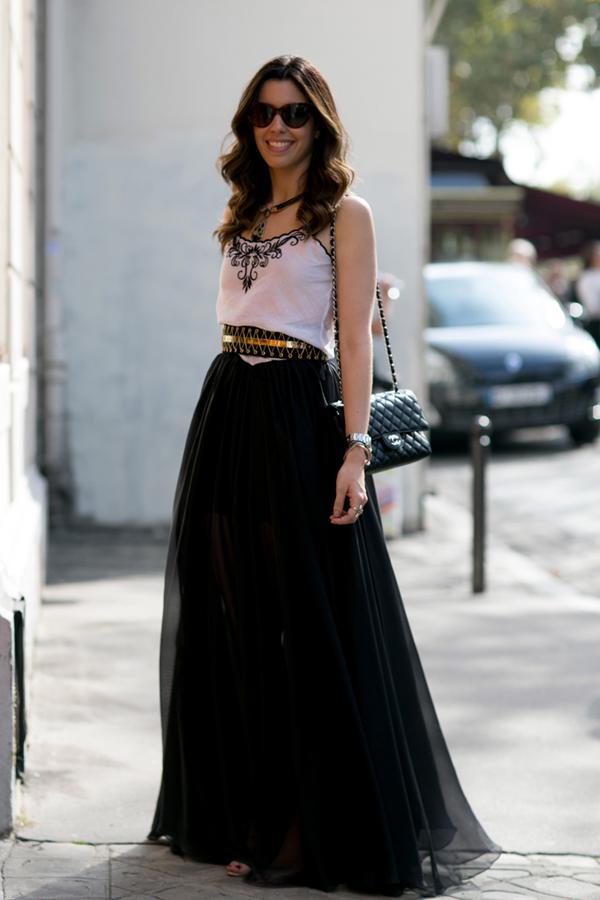 image10-46 | 10 стильных образов с черной юбкой
