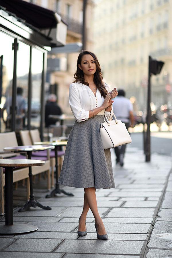 image11-82   20 стильных образов с юбкой для деловой леди