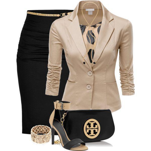 image15-73   20 стильных образов с юбкой для деловой леди