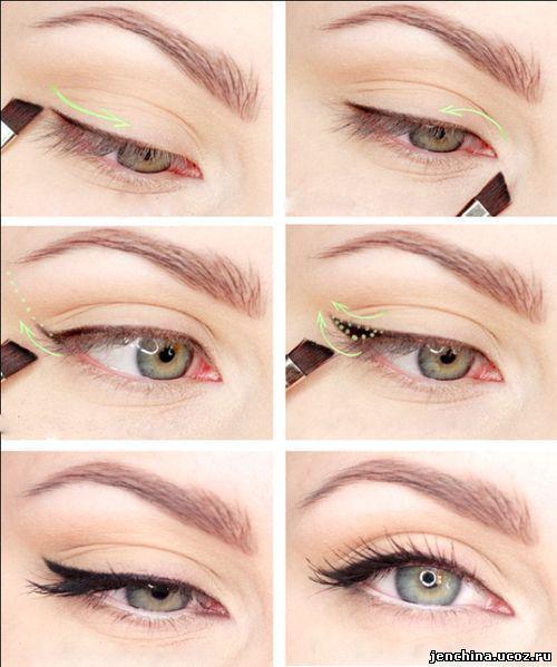 image16-57   Искусство макияжа: пошаговые инструкции на все случаи жизни
