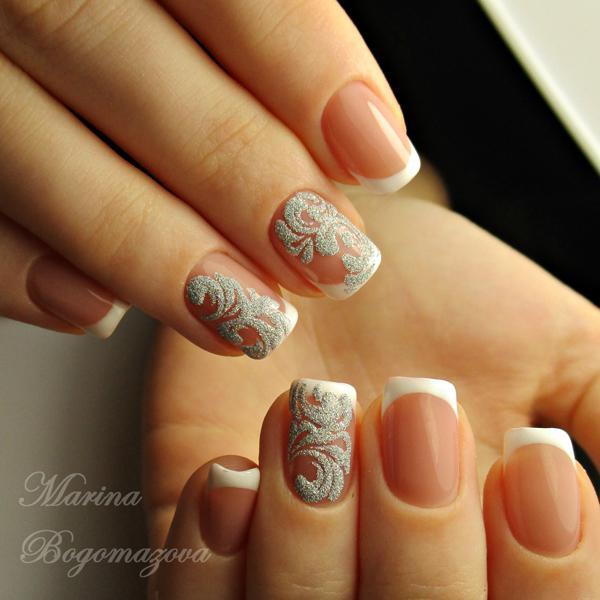 image17-47   Модный маникюр с дизайном на короткие ногти