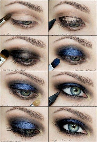 image17-53   Искусство макияжа: пошаговые инструкции на все случаи жизни
