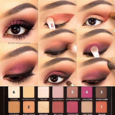 image18-52   Искусство макияжа: пошаговые инструкции на все случаи жизни
