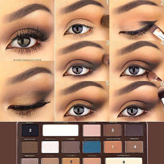 image19-50   Искусство макияжа: пошаговые инструкции на все случаи жизни