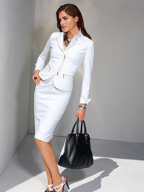 image5-124   20 стильных образов с юбкой для деловой леди