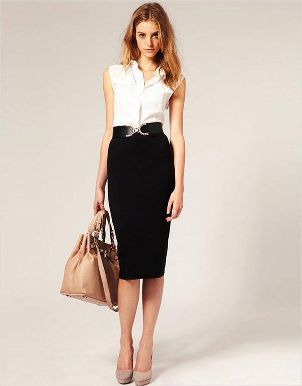 image6-114   20 стильных образов с юбкой для деловой леди