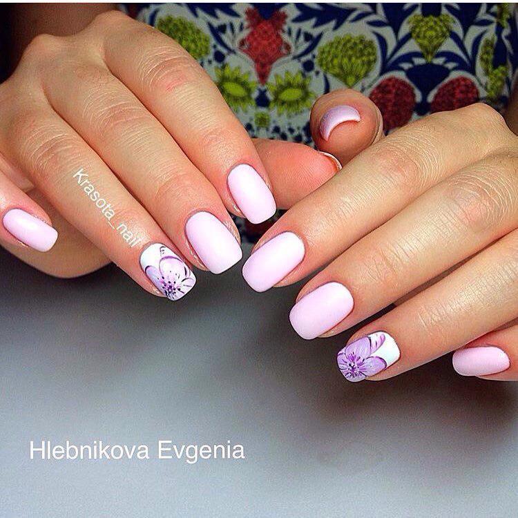 image6-71   Нежные идеи маникюра с дизайном в розовых оттенках