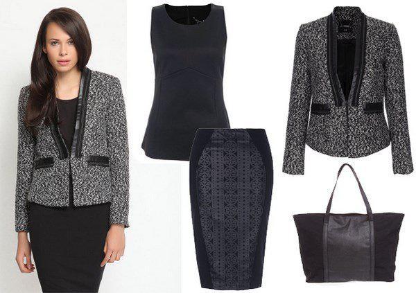 image7-107   20 стильных образов с юбкой для деловой леди