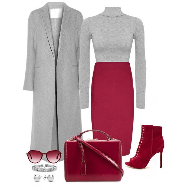 image9-1   20 стильных образов с юбкой для деловой леди