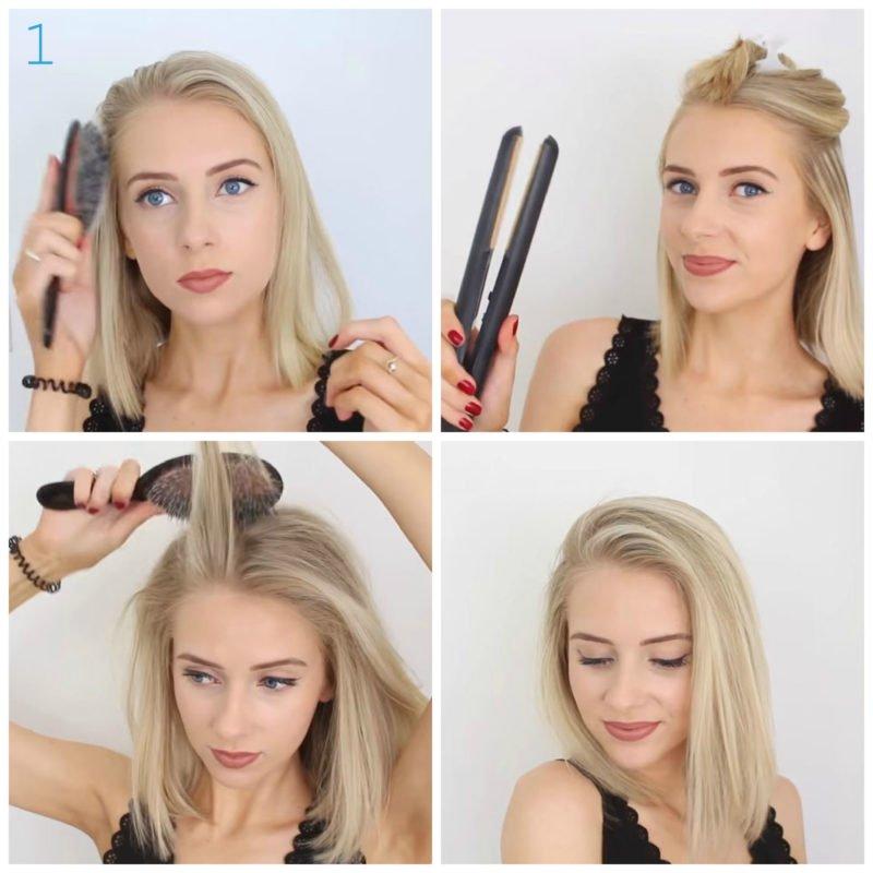 image1-41 | 10 лёгких причёсок для коротких и средних волос на каждый день