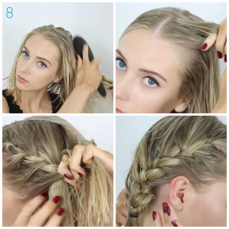 image10-18 | 10 лёгких причёсок для коротких и средних волос на каждый день
