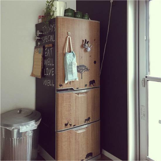 image12-19 | Новый дизайн старого холодильника: 7 способов создать стильный интерьер