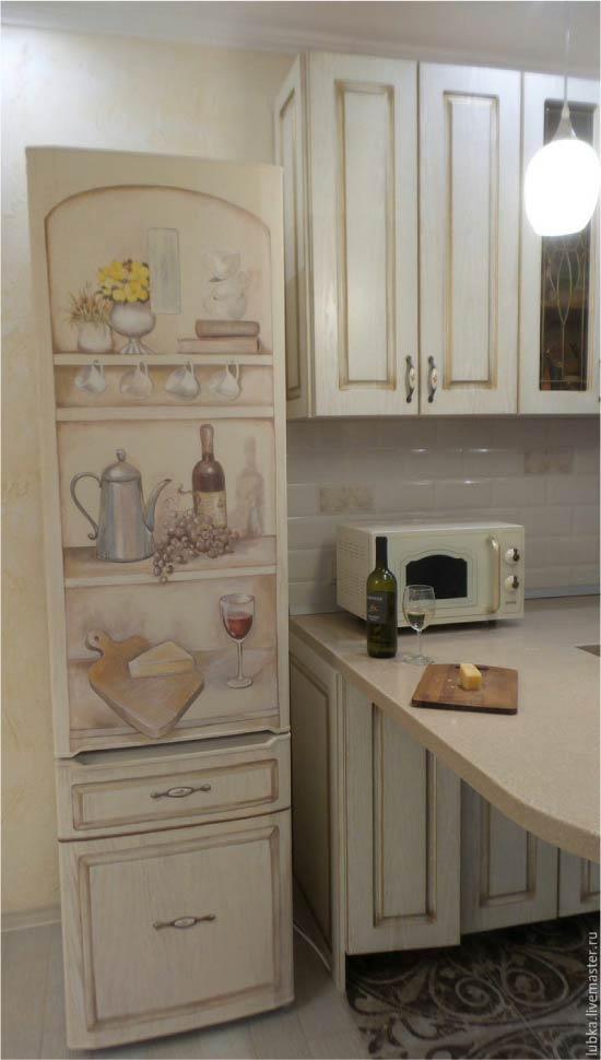 image22-9 | Новый дизайн старого холодильника: 7 способов создать стильный интерьер