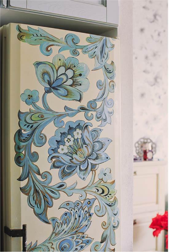 image24-9 | Новый дизайн старого холодильника: 7 способов создать стильный интерьер
