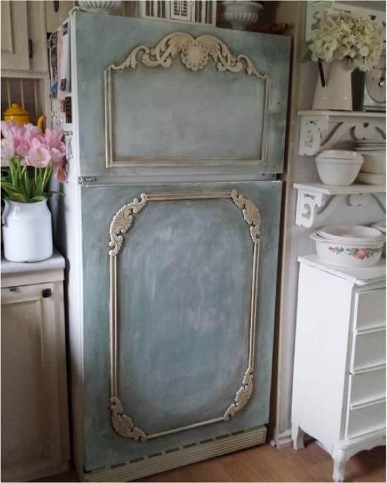 image27-4 | Новый дизайн старого холодильника: 7 способов создать стильный интерьер