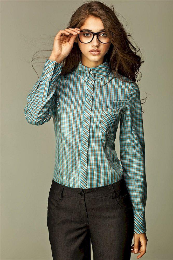 image27-7   Офисный стиль: как носить рубашку и не выглядеть скучной