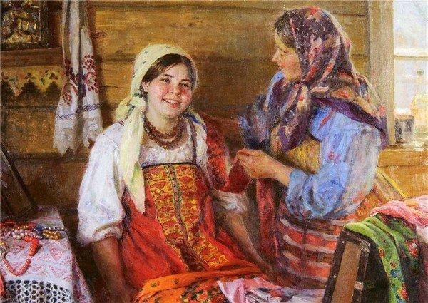 image3-48   Что умела делать 10-летняя девочка на Руси 100 лет назад?