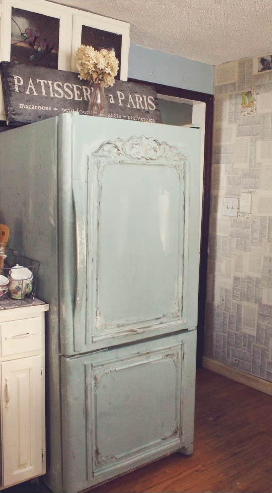 image30-4 | Новый дизайн старого холодильника: 7 способов создать стильный интерьер