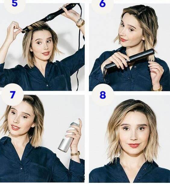 image35-9 | Красивые и стильные укладки на короткие волосы