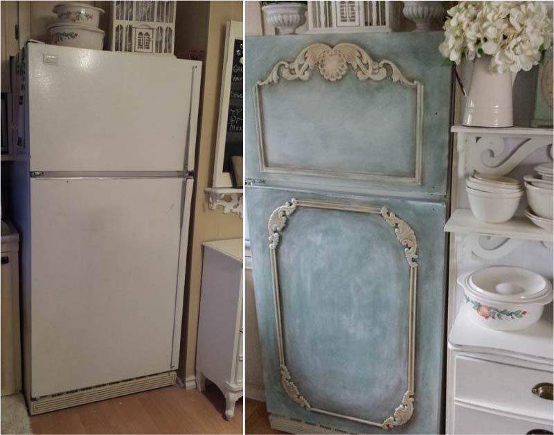 image36-1 | Новый дизайн старого холодильника: 7 способов создать стильный интерьер