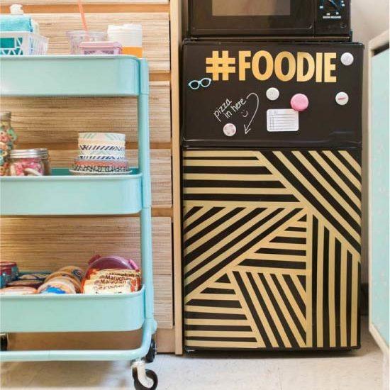 image5-27 | Новый дизайн старого холодильника: 7 способов создать стильный интерьер