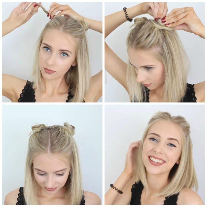 image6-23 | 10 лёгких причёсок для коротких и средних волос на каждый день