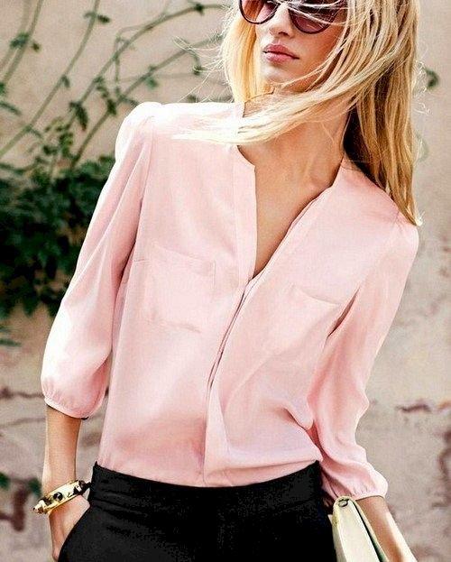 image6-38   Офисный стиль: как носить рубашку и не выглядеть скучной