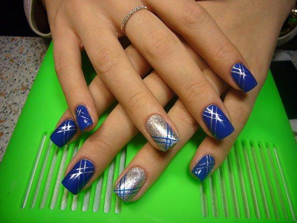 image7-110 | Прекрасные идеи весеннего маникюра в синих тонах