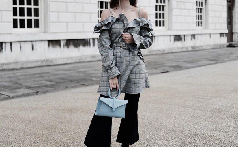 image7-82   8 стильных образов с черными брюками: модные тенденции весны 2018
