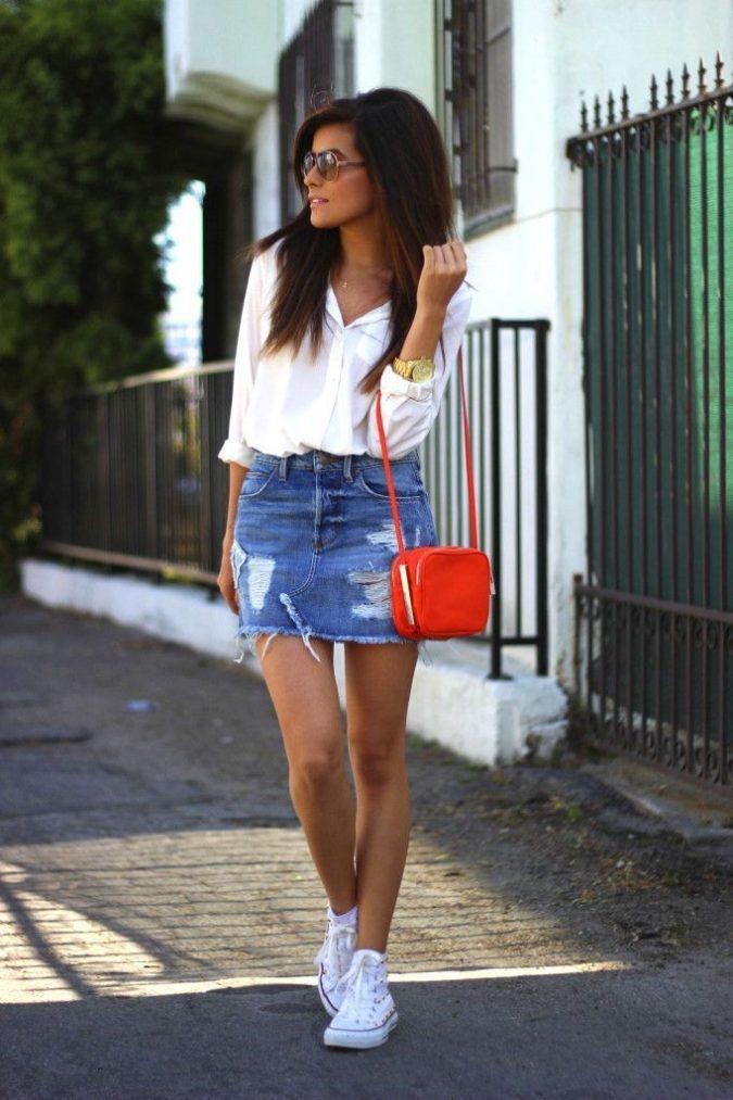 denim-mini-skirt-675x1013 | 10 прекрасных идей нарядов весны и лета 2018