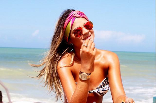 image18-6   Как красиво и оригинально повязать шарф или палантин на голову