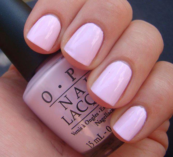 image27-11   36 вариантов стильного маникюра в модном розовом цвете «Дитя заката»