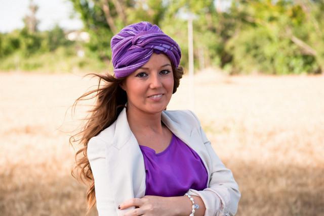 image30-2   Как красиво и оригинально повязать шарф или палантин на голову