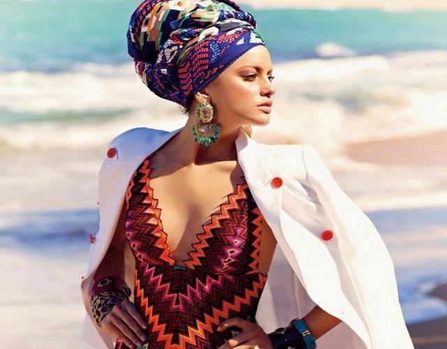 image32-2   Как красиво и оригинально повязать шарф или палантин на голову