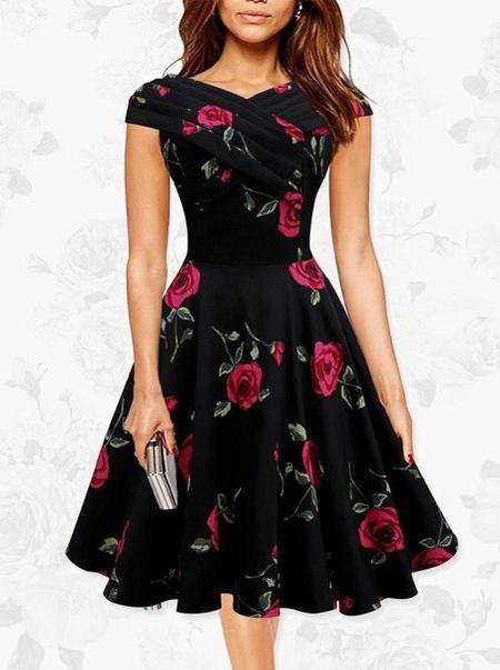 image5-33 | 9 стильных и модных платьев-миди 2018