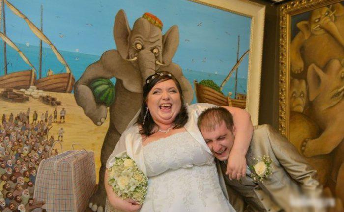 image5-6 | 34 свадебных фотографии, которые насмешат вас до слез!
