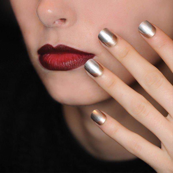 metallic-nails-9 | Тренды маникюра: ногти-металлик