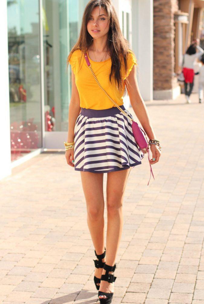 mini-skirt-women-summer-outfit-675x1008 | 10 прекрасных идей нарядов весны и лета 2018