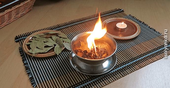 burn-bay-leaf | Если вы напишете желание на лавровом листе, а затем кинете его в огонь, произойдет нечто чудесное