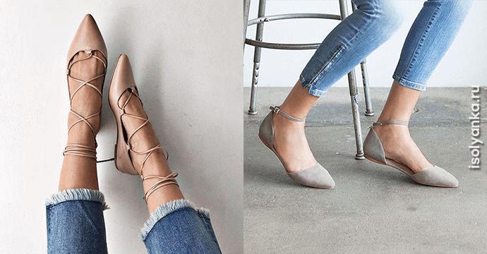 20 стильных моделей кожаных балеток сезона лето 2018!