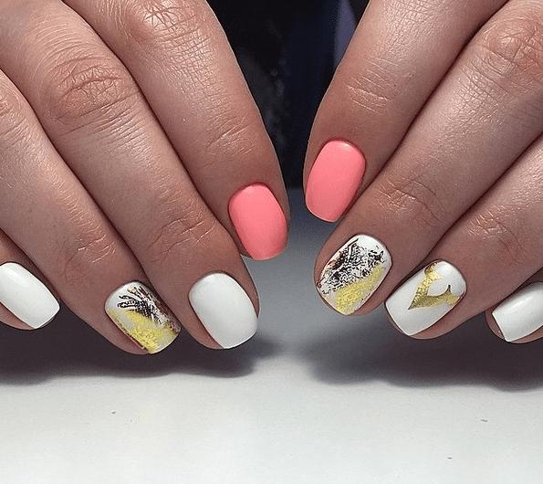 image2   Стильный маникюр на короткие ногти