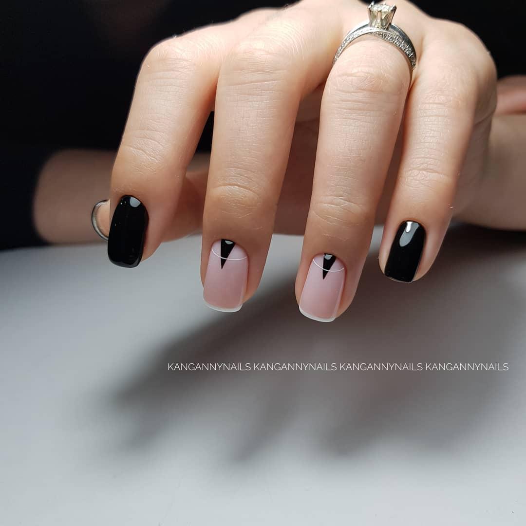image3-18   Стильный маникюр на короткие ногти