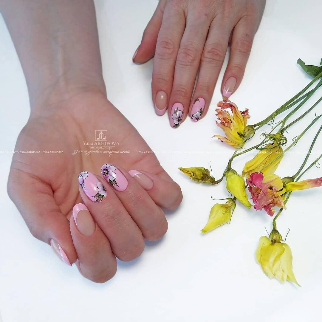 image6-15   Стильный маникюр на короткие ногти