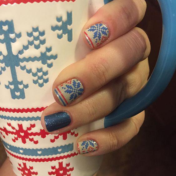 image1-6 | Синий маникюр — для зимы и не только!