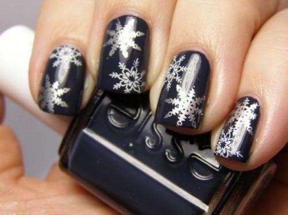 image3-6 | Синий маникюр — для зимы и не только!