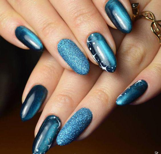 image6-5 | Синий маникюр — для зимы и не только!