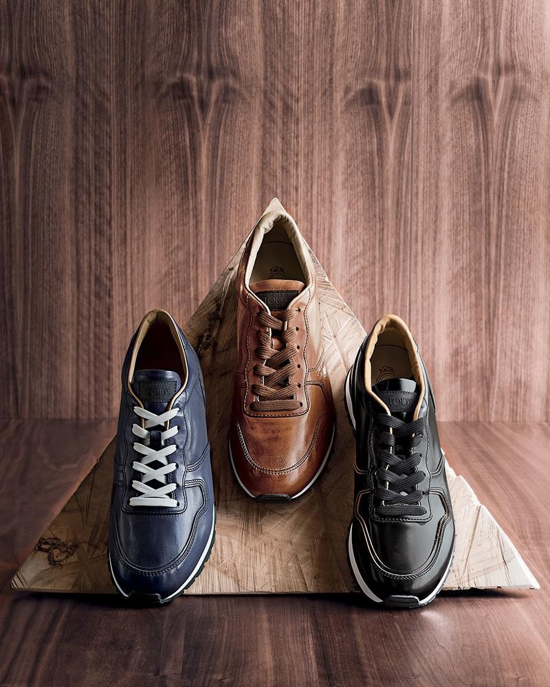 leather-sneaker-003 | Кожаные мужские кроссовки — must have для любого гардероба
