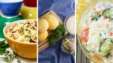 Картофельные салаты — вкусно, просто, сытно