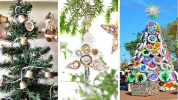 Рождественские и Новогодние украшения из втросырья своими руками