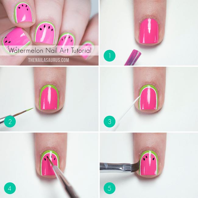 image1-1 | 25 простых узоров на ногтях для начинающих